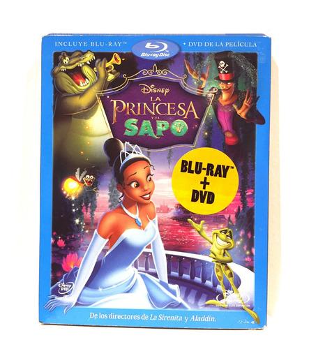 disney la princesa y el sapo combo bluray y dvd