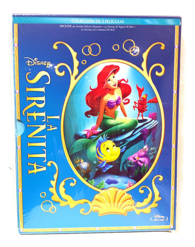 disney la sirenita la trilogía bluray the little mermaid