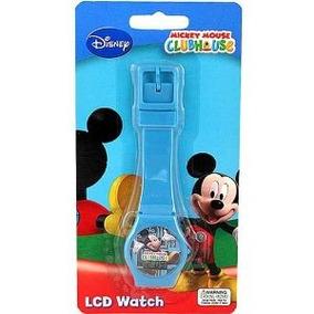 fotos oficiales 41862 86356 Reloj Para Niño O Niña De Mickey Mouse En Azul Fuerte ...