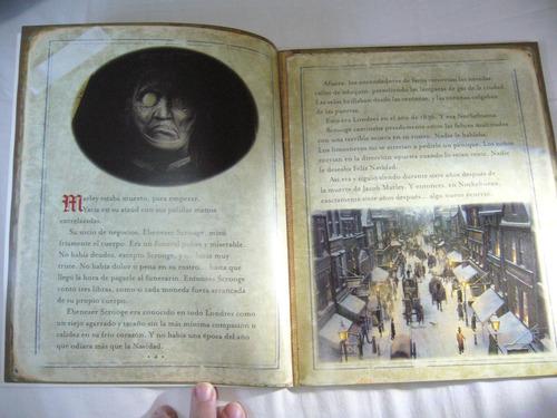 disney libro cuento de navidad fantasmas de scrooge película