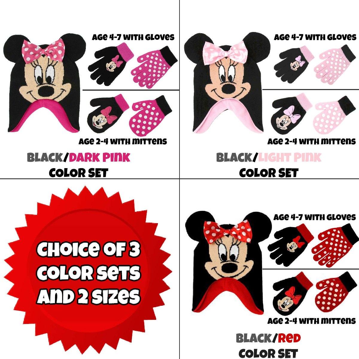 Disney Little Girls Sombrero De Lunares Minnie Mouse Y 2 ...