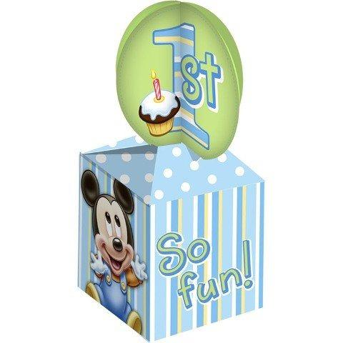 disney mickey mouse 1r cumpleaños tratar cajas 4 paquete