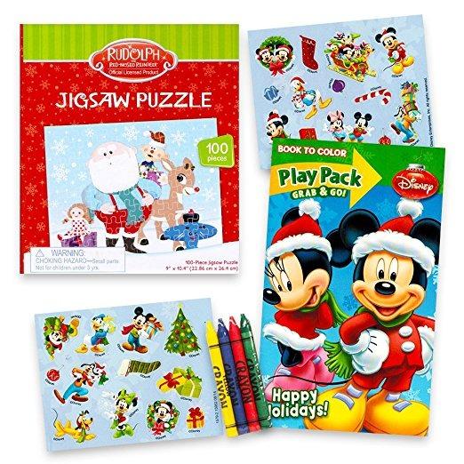 Disney Mickey Mouse Actividad Conjunto De La Navidad Para Ni ...