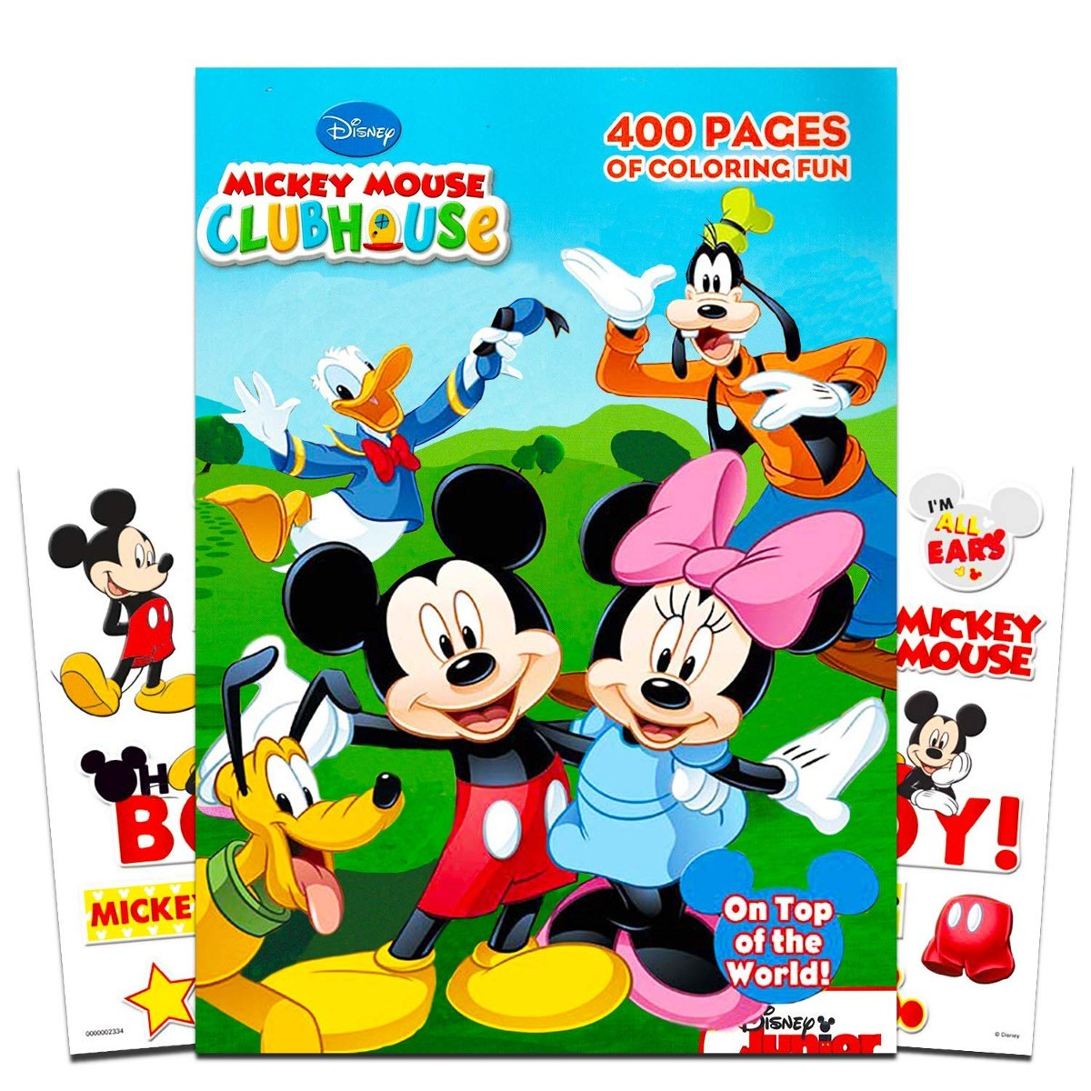 Disney Mickey Mouse Para Colorear Gigante Conjunto Libro Con