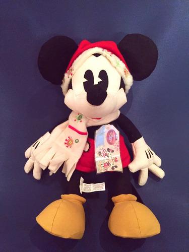 disney mickey mouse peluche de navidad importado de usa