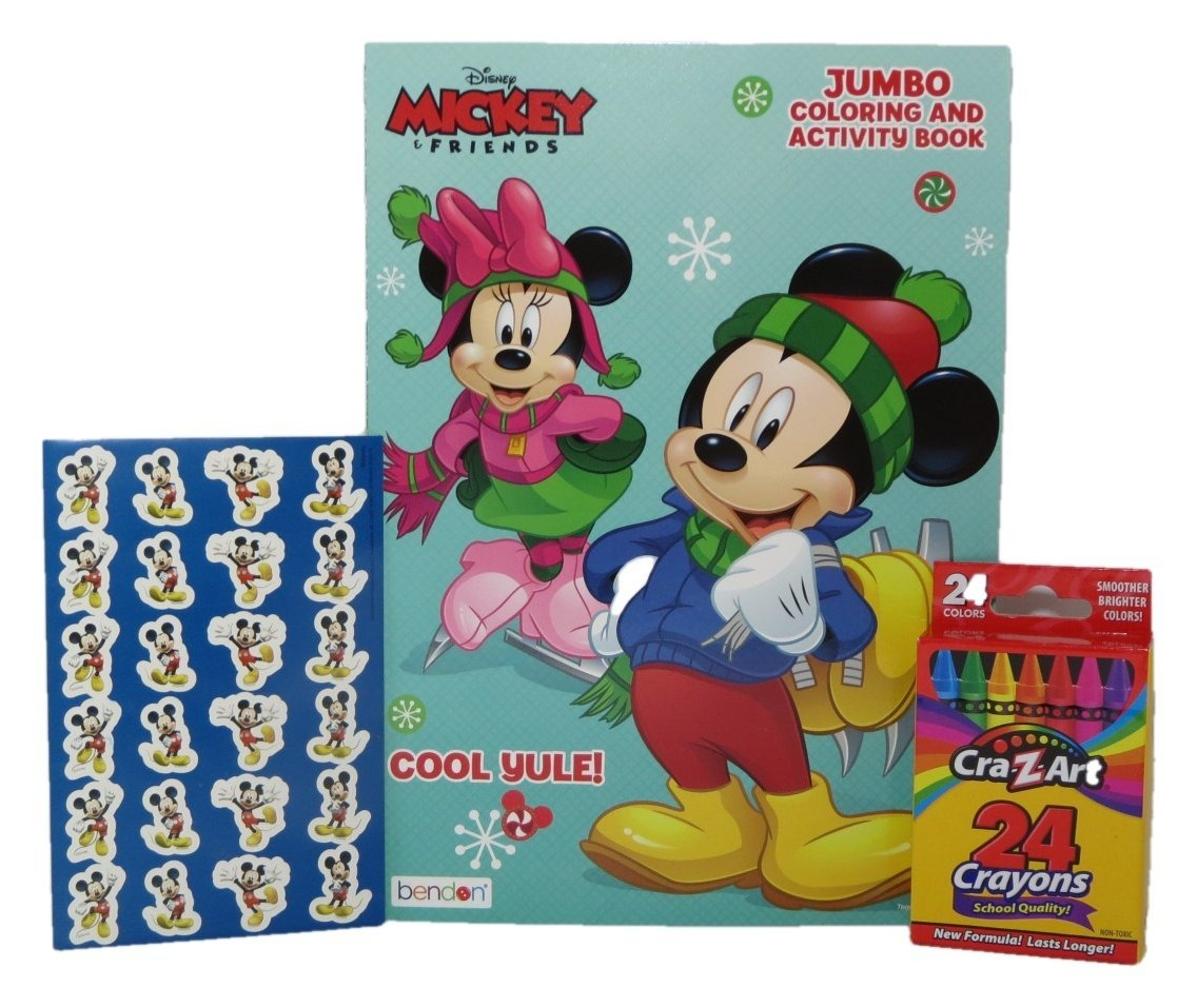 Disney Mickey Y Minnie Mouse Para Colorear Y Libro De Activi ...