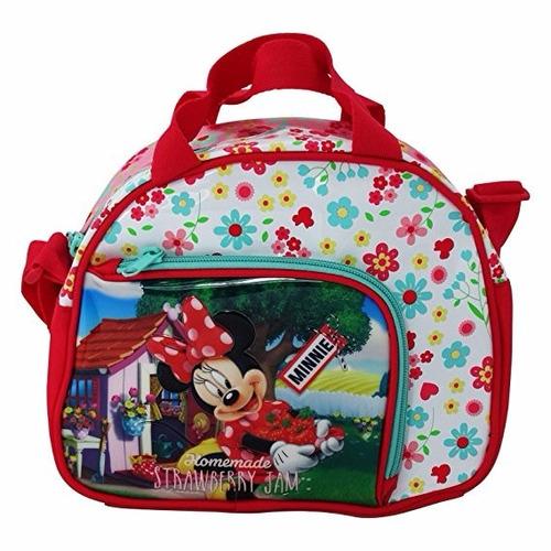 disney minnie mouse strawberry handbag shoulder bag