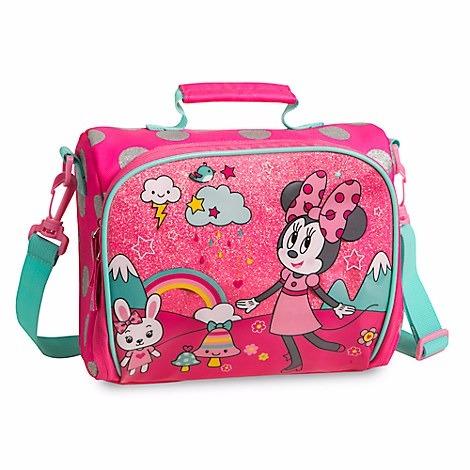 797a37903 Disney Mochila Costas Lancheira Minnie Disney Oficial - R  299
