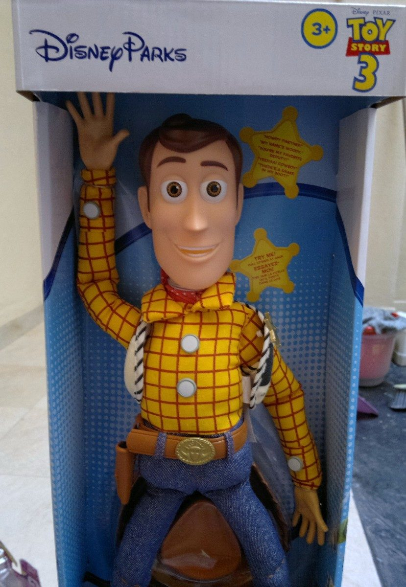 disney parks pixar toy story 3 jessie que habla unica! Cargando zoom. 7efac69d375