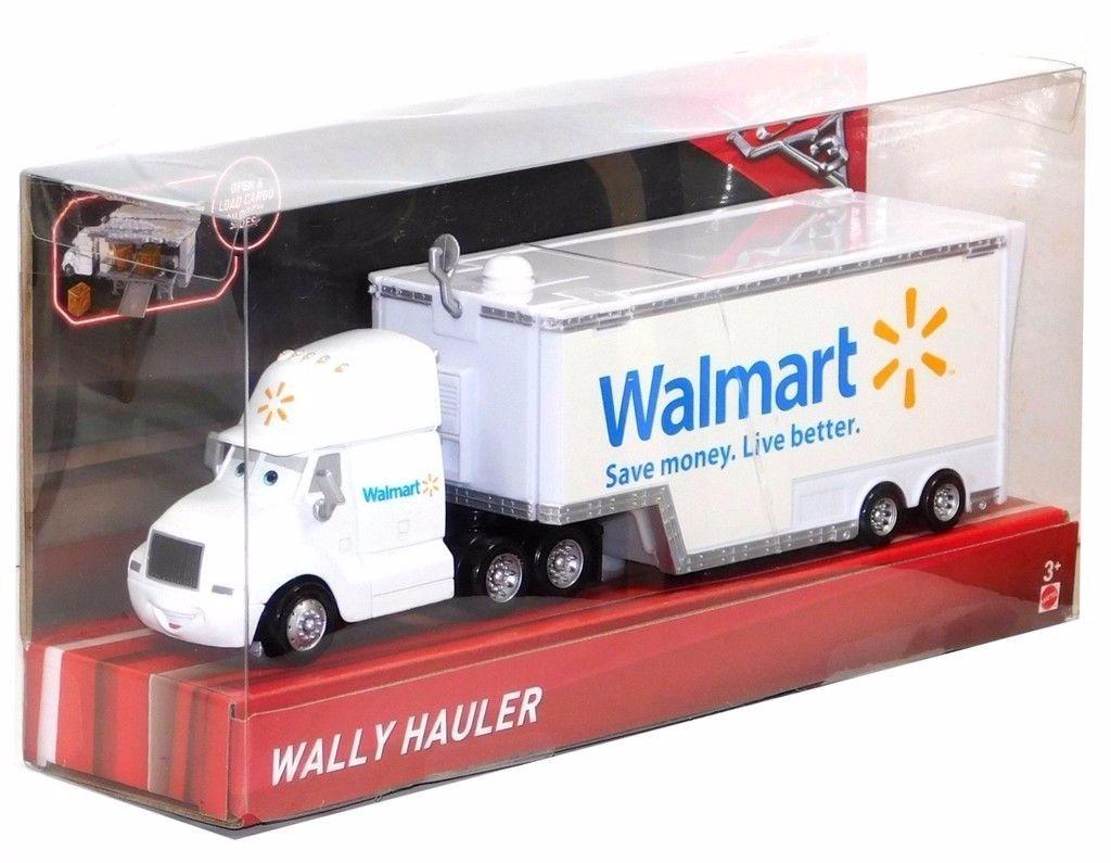 Disney Pixar 2017 Cars 3 Wally Trailer Walmart Nuevo - $ 730.00 en ...