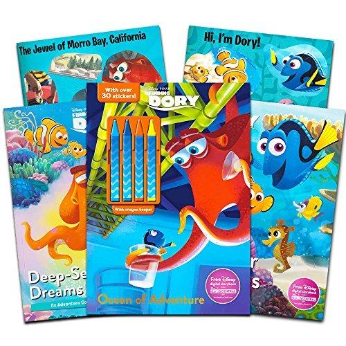Disney Pixar Buscando A Nemo Dory Para Colorear Y Libro De A