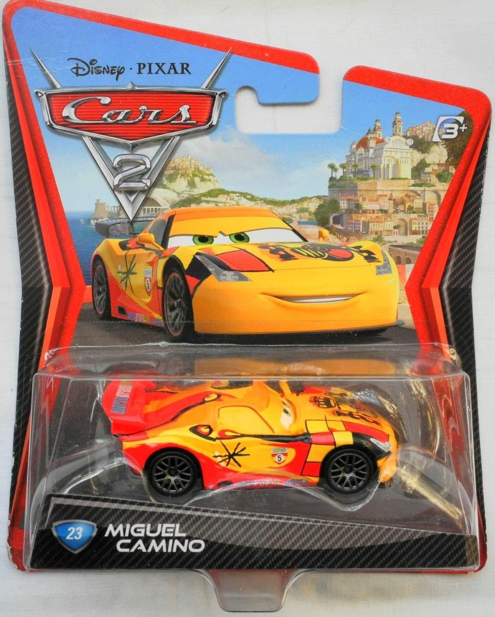Disney pixar cars 2 auto miguel camino 23 en mercado libre - Coloriage cars 2 miguel camino ...