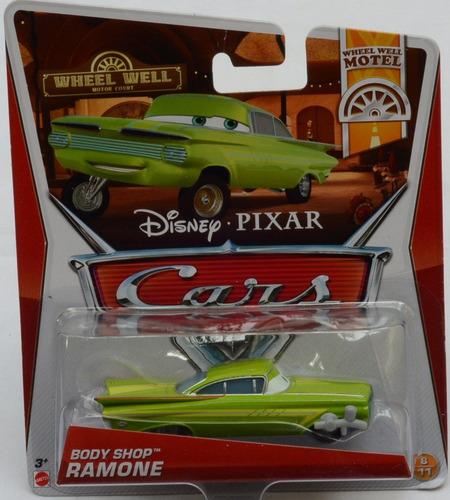 disney pixar cars 2 auto ramone body shop