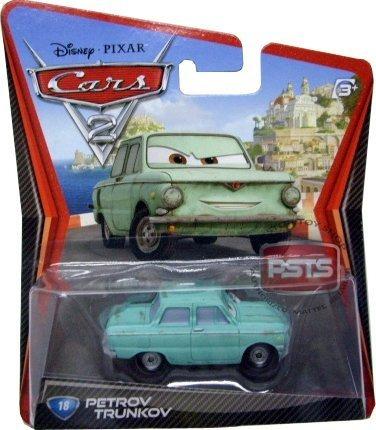 disney / pixar cars 2 movie 155 die cast car # 18 petrov tr