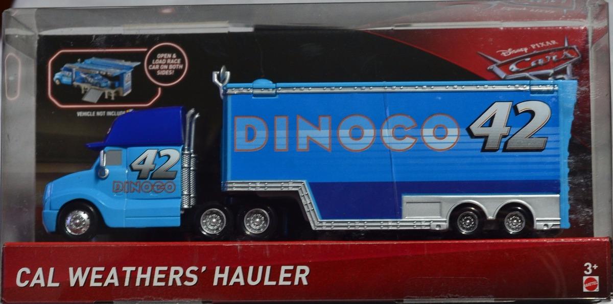 disney pixar cars 3 camion dinoco hauler en mercado libre. Black Bedroom Furniture Sets. Home Design Ideas