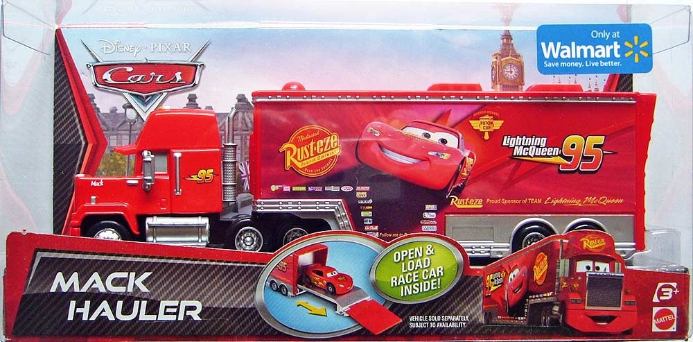 disney pixar cars camion mack hauler en mercado libre. Black Bedroom Furniture Sets. Home Design Ideas