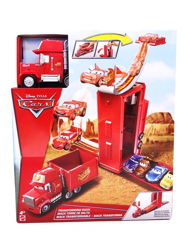 disney pixar cars mack transforma mattel