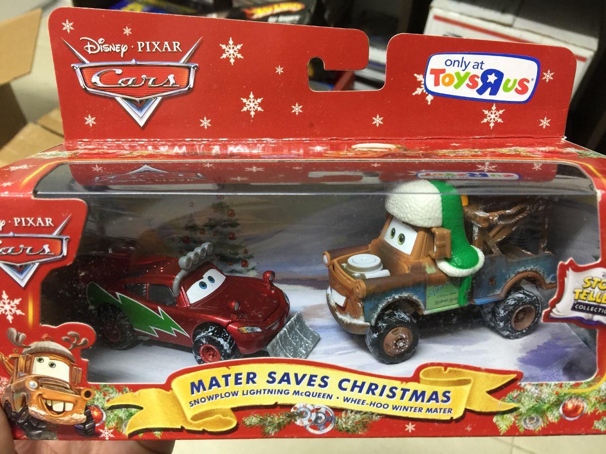 Disney pixar cars mater saves christmas gift pack