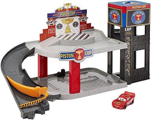 disney pixar cars piston cup racing garage cq