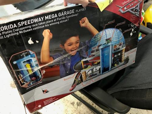 disney pixar cars piston cup racing garage envío gratis