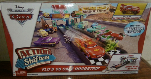 disney / pixar cars shifters acción luigis playset