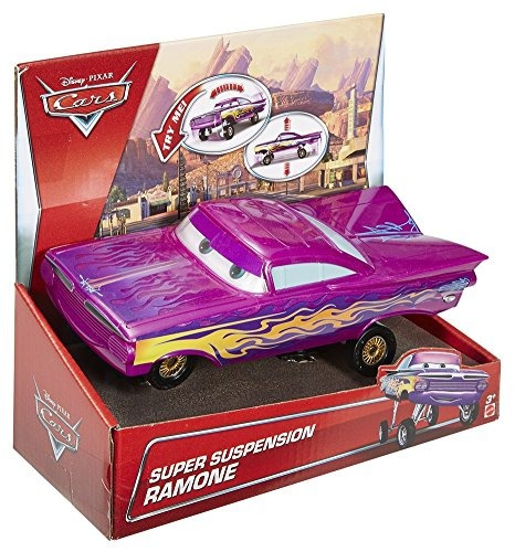 disney / pixar cars super suspension ramone vehículo