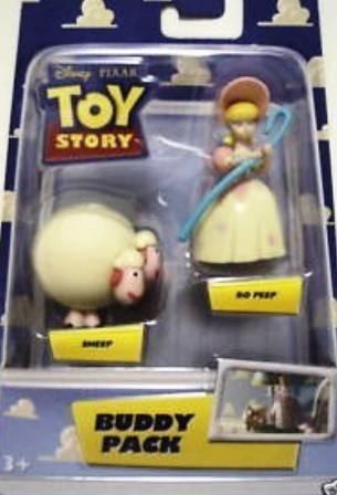disney pixar toy story buddy pack bo peep & sheep mini f