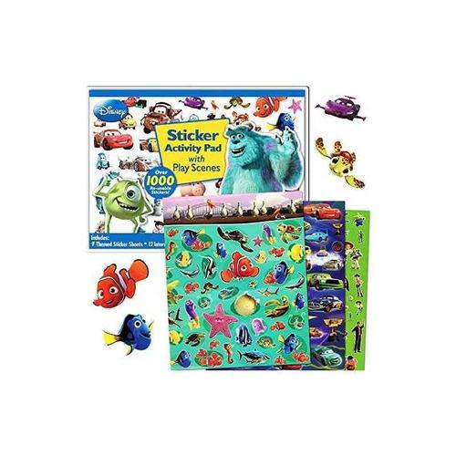 disney pixar ultimate pegatina pad de actividad ~ más de 100