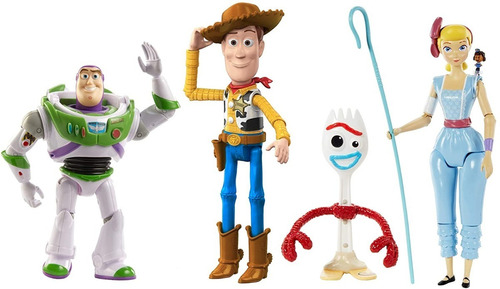 disney pixarfiguras toy story adventure x 4