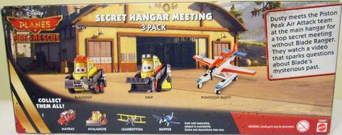 disney planes aviones, fire & rescue - paquete de 3, e:1/55