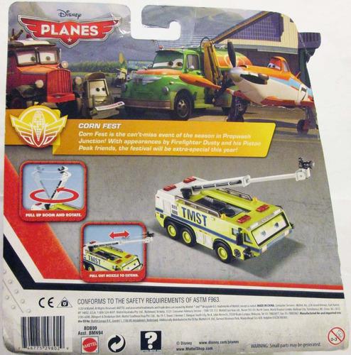 disney planes aviones, fire & rescue - ryker, escala 1/55.