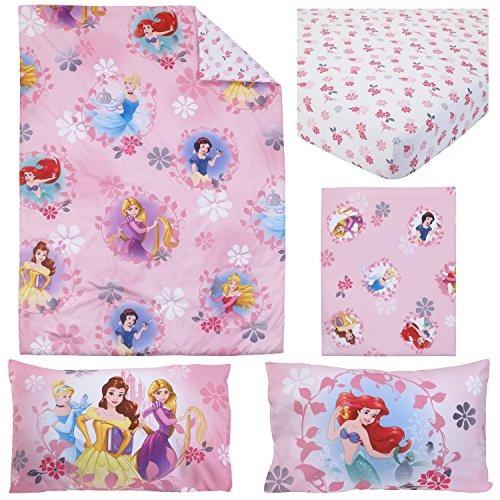 4/piezas color rosa Disney Princesa Cama infantil