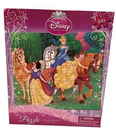 disney princesa (3) - puzzle de 100 piezas - 10 x 9 - belle