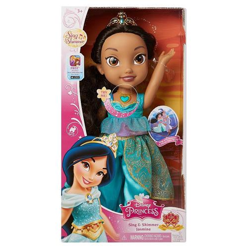 disney princesa jasmine canta y brilla