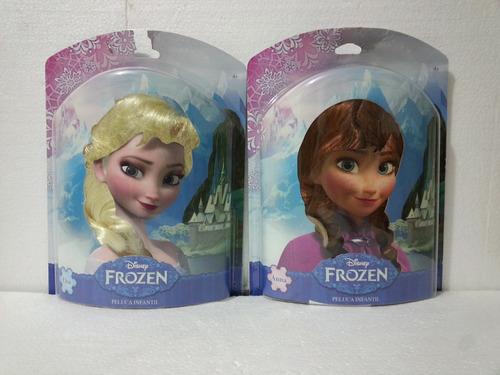 disney princesas frozen anna elsa peluca infantil ruz pop se