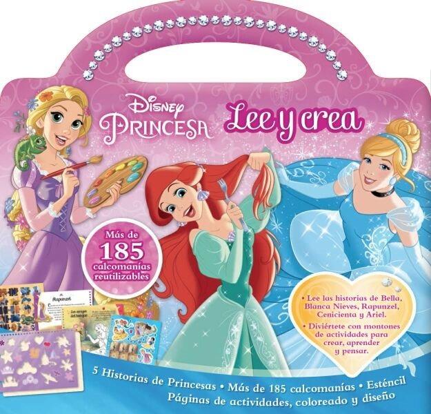 Disney Princesas Lee Y Crea Libro De Actividades Preescolar ...