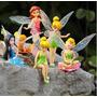 Tinkerbell Hadas Disney Set 6 Pcs Nuevo