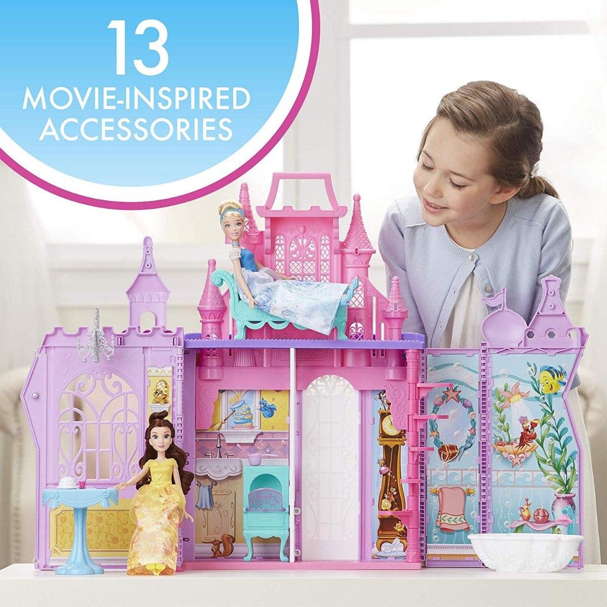 fade6bed6 Disney Princesas Palacio Castillo Maletín Pop Up 2018 - $ 1,799.00 ...