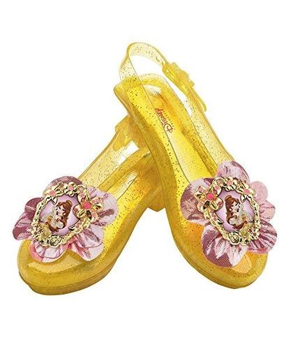 disney princess beauty y the beast belle sparkle shoes un