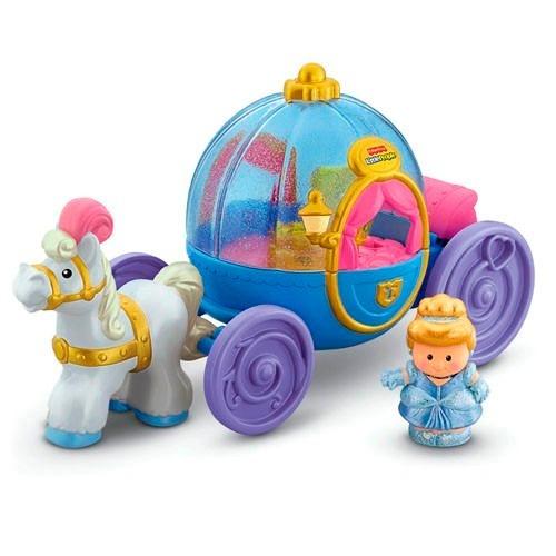 Disney princess carroza de cenicienta fisher price little - Carroza cenicienta juguete ...