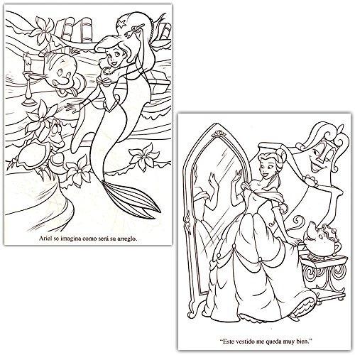 Disney Princess Coloring Book Super Set - 2 Libros Para Col ...