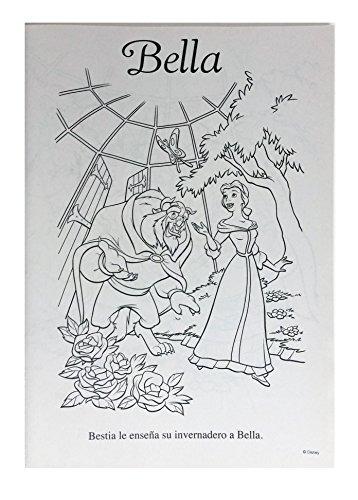 Disney Princess Coloring Set. 2 Libros De Colorear Y Acti ...