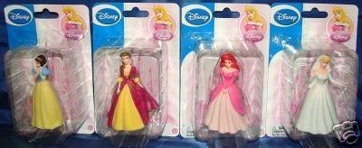 disney princess juguete o de la torta de 4 piezas conjunto