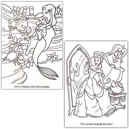 Disney Princess Libro Para Colorear Super Set -2 libros P - $ 821.00 ...