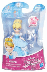 disney princess little kingdom mini cenicienta/aurora hasbro