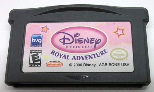 disney princess royal adventure - gba