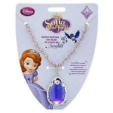 disney princess sofia el collar de primera amuleto - rare
