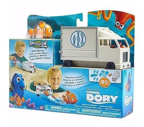 disney procurando dory caminhão do hank - sunny bandai