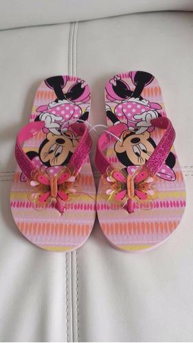 disney sandalias niñas minnie mouse talla nacional 27-29