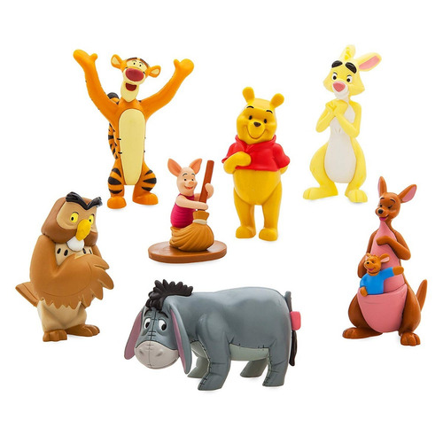 disney set de figuras winnie the pooh 100 % originales